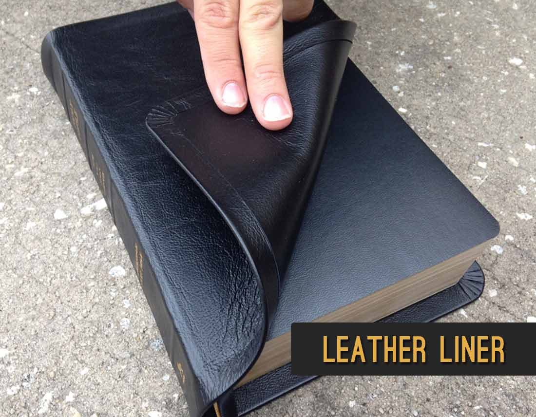 Leather Liner Bible Cover