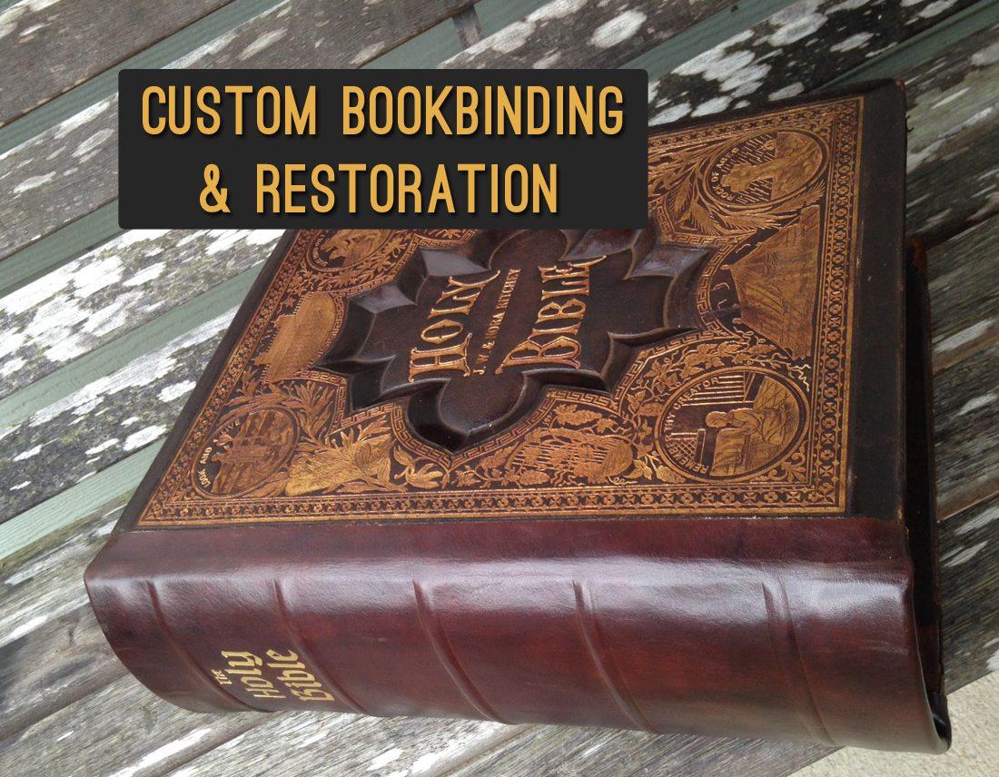 Restoring Antique Leather Aaleather Antique Bible Restoration