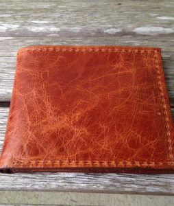 Saddle Italia Cowhide Leather Wallet