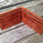 Saddle Italia Cowhide Leather Wallet