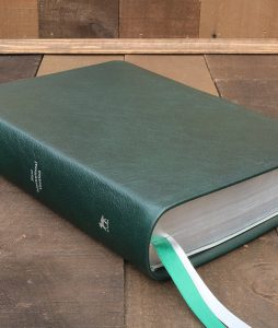 NIV Forest Green Cowhide Leather Bible