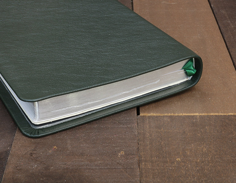 NRSV Bible Forest Green Cowhide Leather