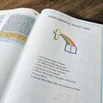 1992 The Rainbow Study Bible KJV