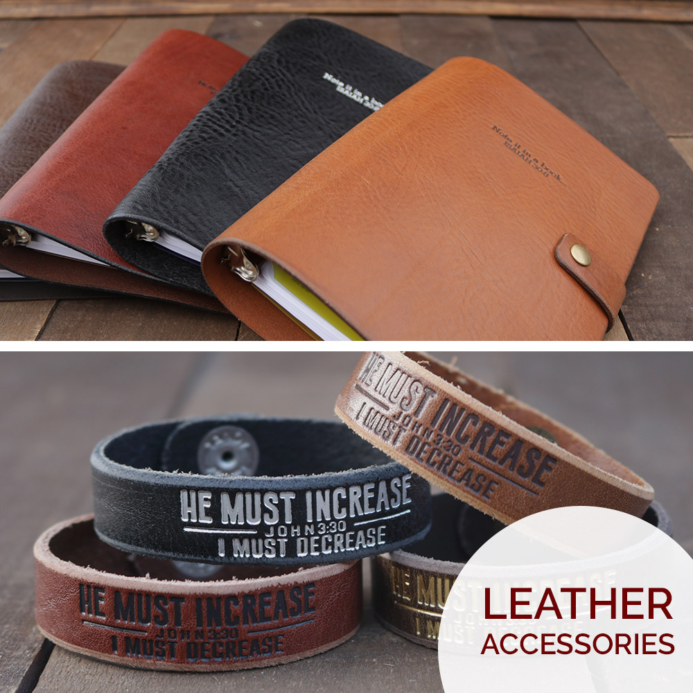 Genuine leather goods handmade in Jacksonville, FL