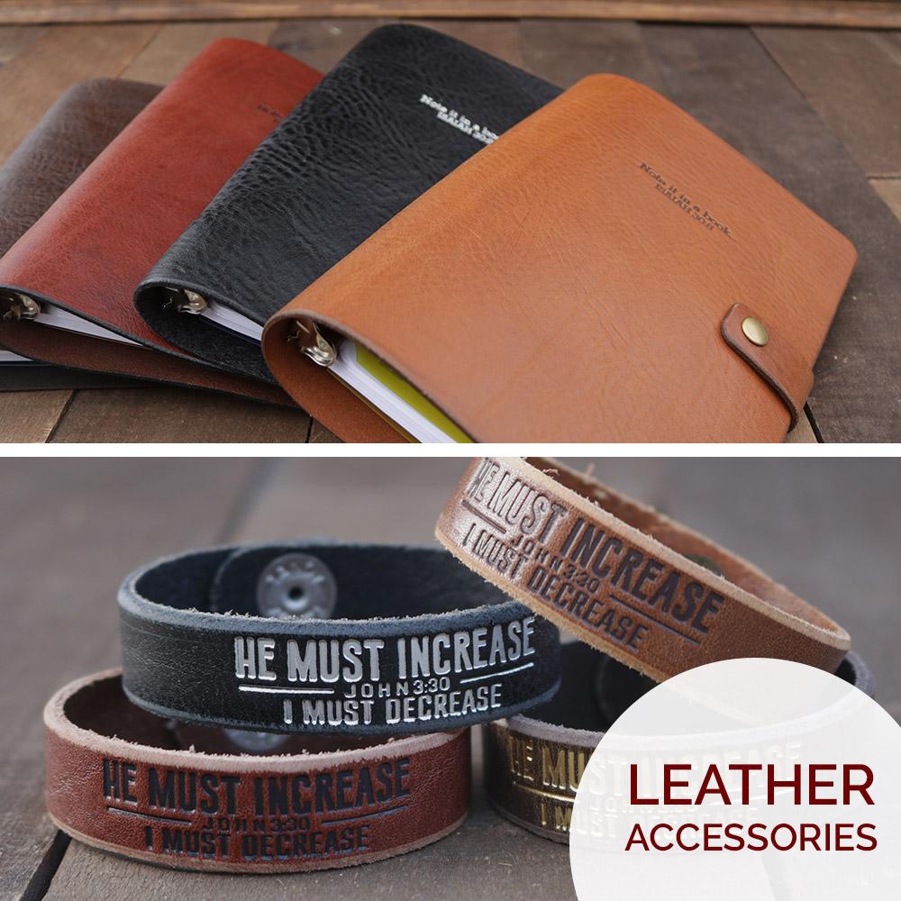 Genuine leather goods handmade in Jacksonville, FL