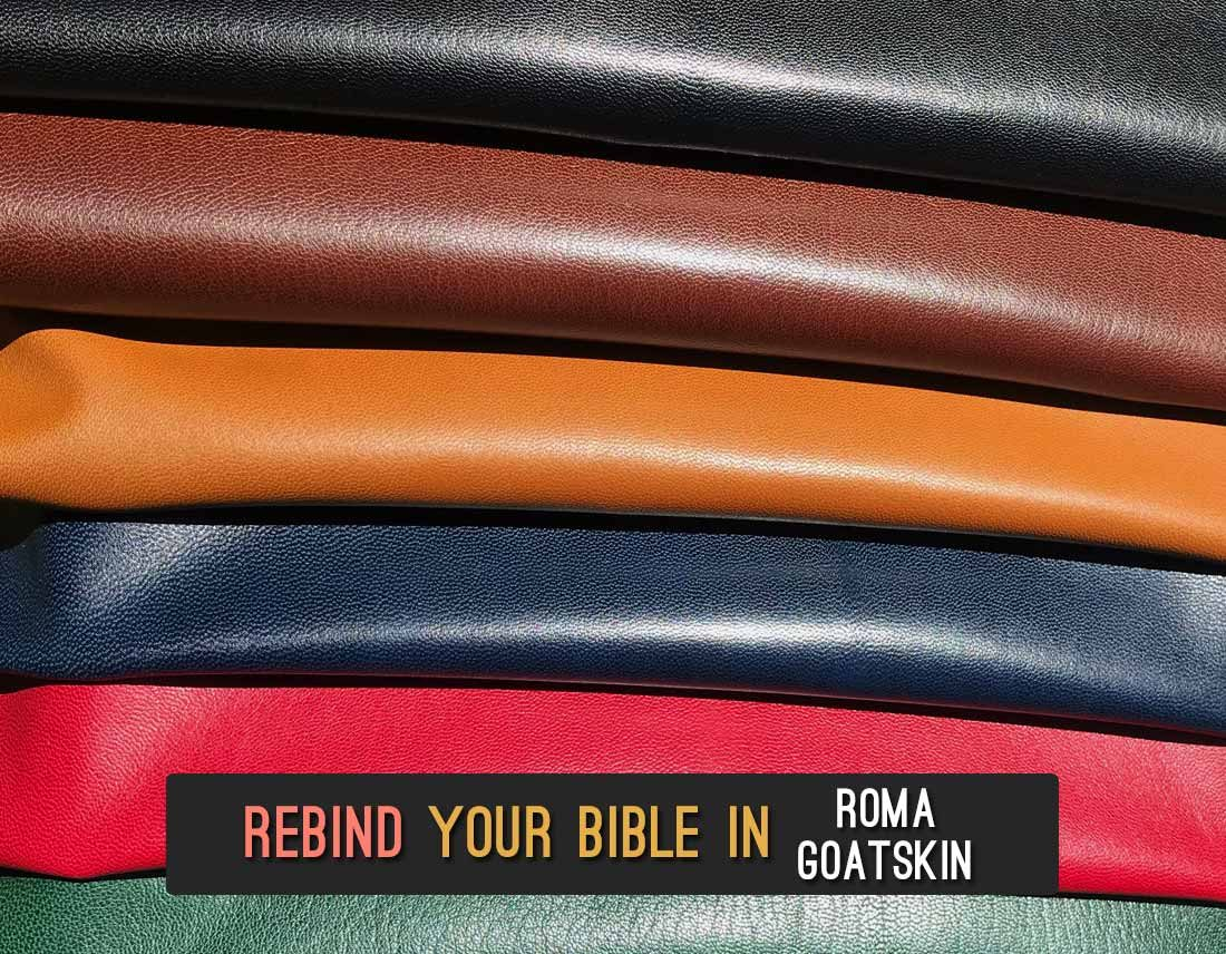 Recover Your Bible In Roma Goatskin Leather