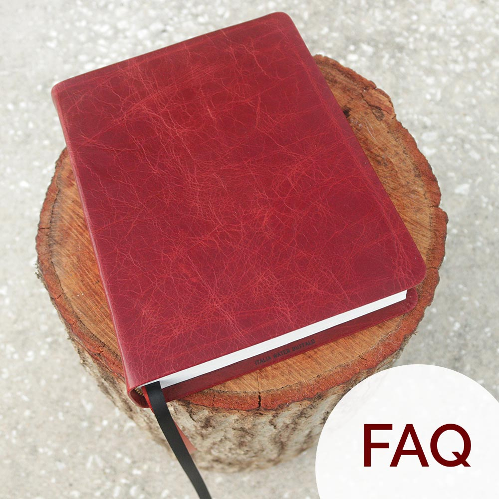 Frequently Asked Questions | AA Leather Bible Bindery | Asheville, NC